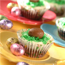 Easter Brownie Cupcakes