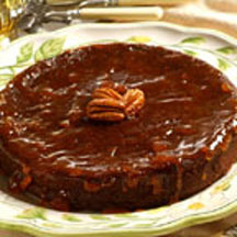 Flourless Chocolate-Pecan Cake with Apricot Glaze Recipe ...