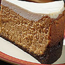 Gingerbread Pumpkin Cheesecake With Cookie Crust Recipe At