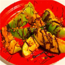 Goo-lish Caramel Apple Slices