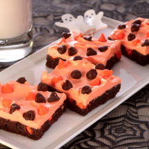 Halloween Brownie Bars
