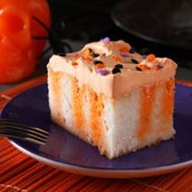 Halloween Orange Jello Poke Cake Recipe Cooksrecipes Com