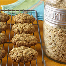 Homemade Oatmeal Cookie Mix