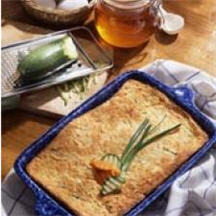 Honey-Kissed Carrot Zucchini Kugel