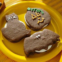 Spooky Cookie S'Mores