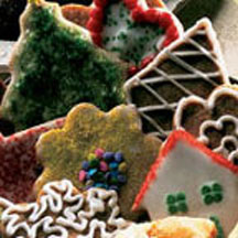 St. Nicholas Day Cookies with Royal Icing