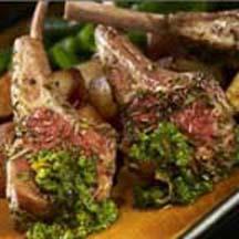 lamb chops spiced lamb chops rosemary crusted lamb chops herb ...