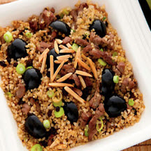 Sweet and Savory Lamb Bulgur