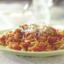 Angel Hair with Tomato Cream Sauce