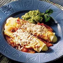 Cheese Enchiladas with Green Chiles