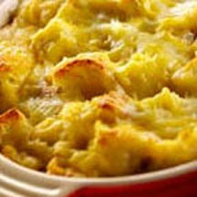 Cheese and Ham Strata
