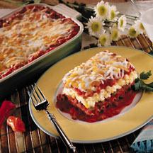 Easy Black Bean Lasagna Recipe Cooksrecipes Com