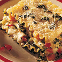 Four Cheese Vegetable Lasagna