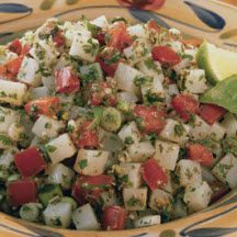 Lime Basil Idaho Potato Tabbouleh