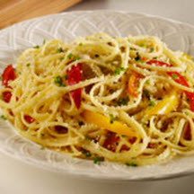 Linguine with Pepato and Peppers