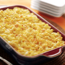 Macaroni and Cheese with Aged Cheddar and Asiago Cheese