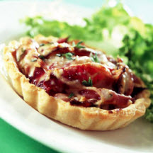 Red Onion and Parmesan Tartlets
