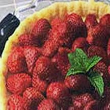 Honey Strawberry Tart