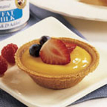 Mini Custard Fruit Tarts