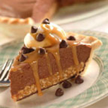 Tin Roof Chocolate Pie