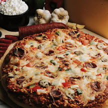 Spicy Pepper Jack Cheese and Chicken Pizza