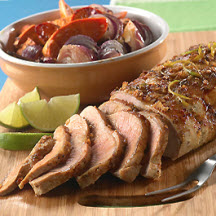 Cuban Glazed Pork Loin