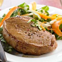 Ginger-Marinated Chops