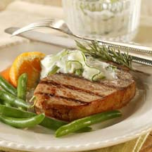 Grecian Grilled Chops