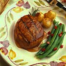 pork chops taste as good as they look. They cook quickly on the grill ...