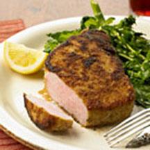 Italian Breaded Pork Chops Recipe at CooksRecipes.com