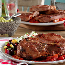 Mexican Pork Steaks