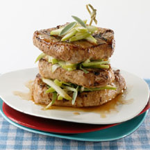 Pork Apple Stacks