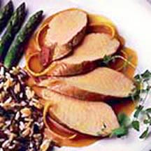 Pork Tenderloin in Orange Glaze