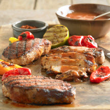 Spicy Grilled BBQ Pork Chops