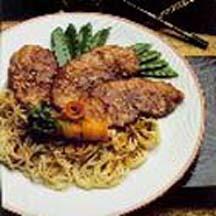 Szechuan-Style Pork Chops Recipe at CooksRecipes.com