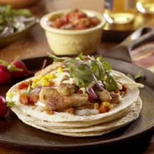 Velveted Pork Tacos