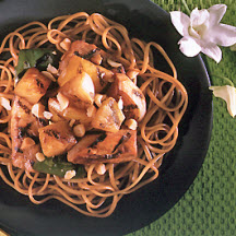 Angel Hair with Hawaiian Grilled Chicken