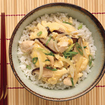 Asian Chicken and Egg Rice Bowl