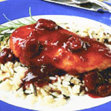 Cherry-Glazed Baked Chicken