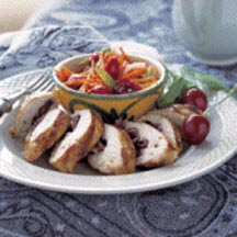 Cherry Stuffed Grilled Chicken