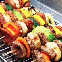 Chicken Skewers in Grapefruit Marinade
