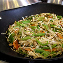 Chicken Stir-Fry with Almonds