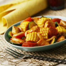 Chipotle Chicken and Corn Skillet