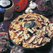 Farfalle with Turkey and Sundried Tomatoes