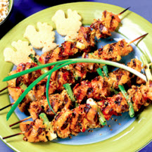 Ginger Chicken Kabobs
