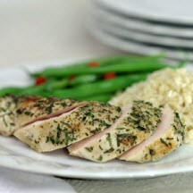 Grilled Chicken Breast with Fresh Herbs Recipe at ...