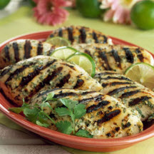 Grilled Chicken with Spicy Ginger Marinade