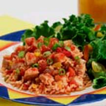 Quick Salsa Chicken and Rice