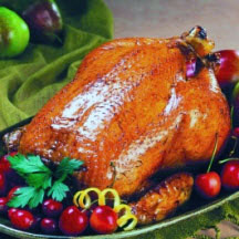 Roast Chicken with Apple Stuffing