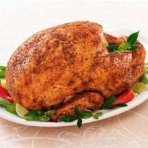 Roast Turkey with Spicy Rub
